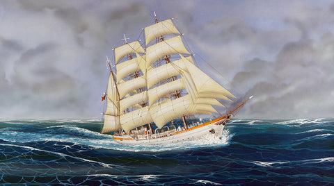 The Mircea Sailing  Ship