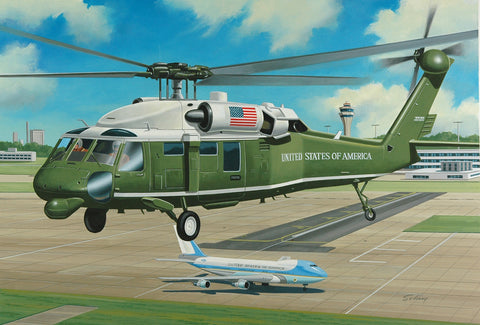 Marine One Helicopter