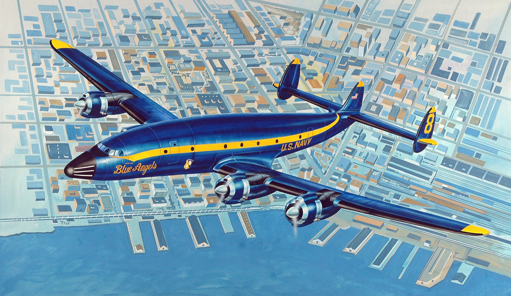"C-121J ""Blue Angels Connie"""