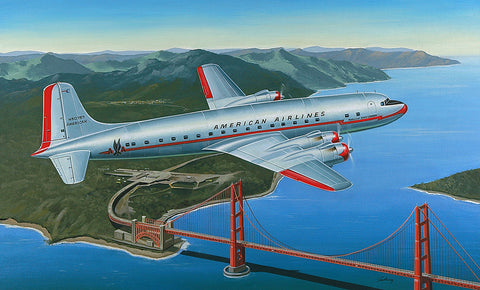 American Airlines DC-6B