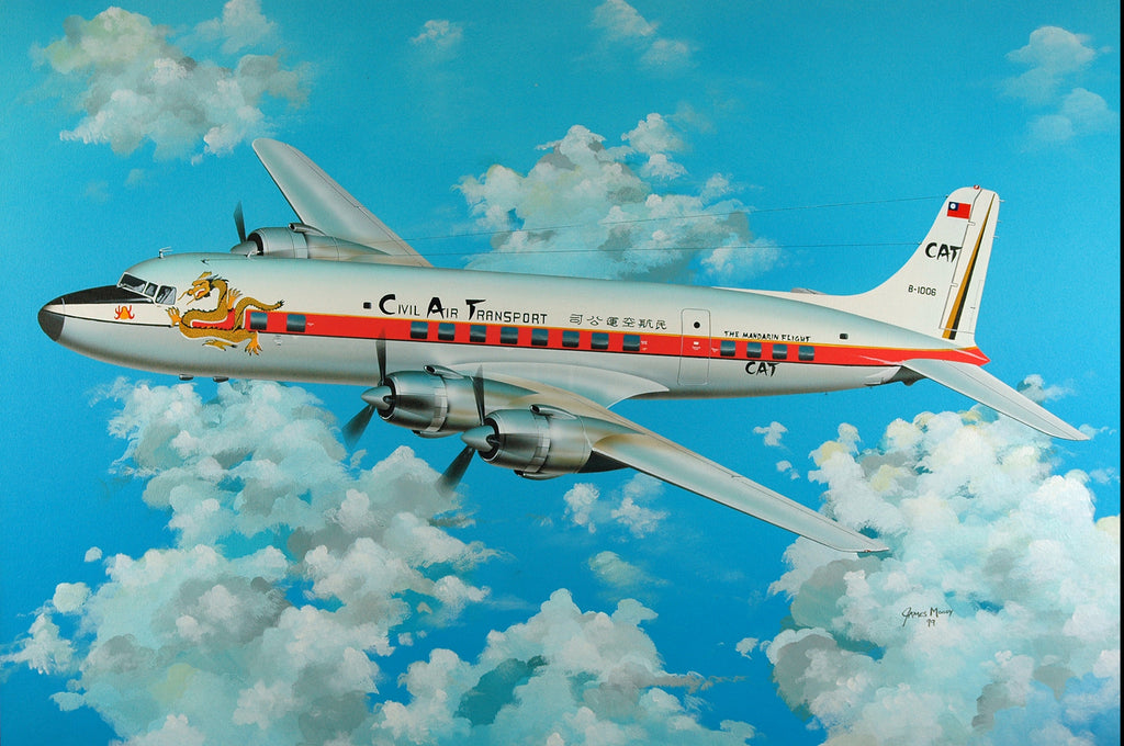 DC-6B Civil Air Transport