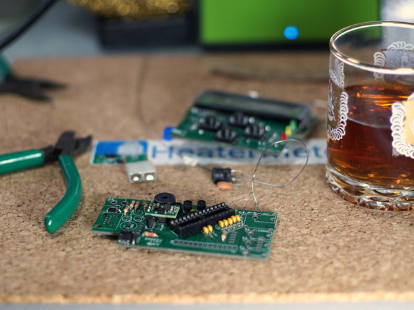 Never drink and solder