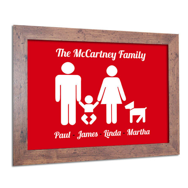 Personalised-Family-Poster