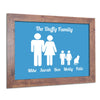 personalised-family-wall art