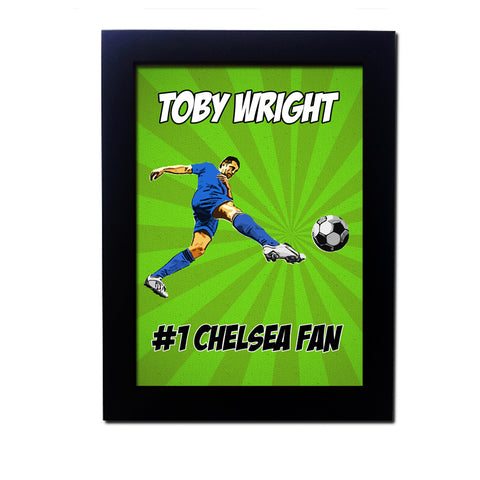Personalised Football Poster