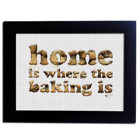 Home Baking Kitchen Wall Art