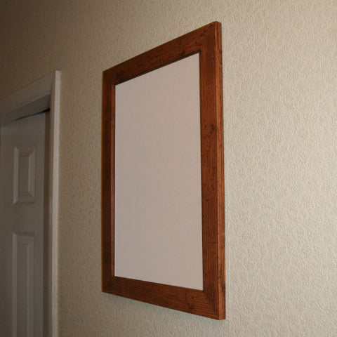 Dark Pine Effect Picture Frame A3