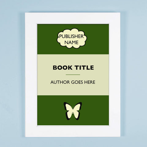Personalised Book Poster