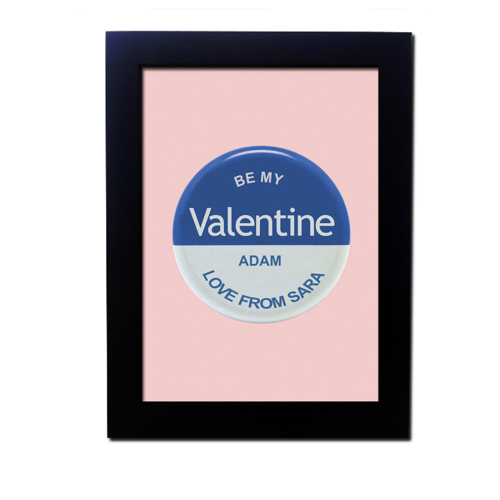 Personalised Valentines Wall Art