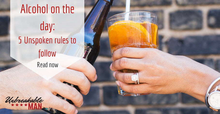 Alcohol at your wedding - 5 unspoken rules