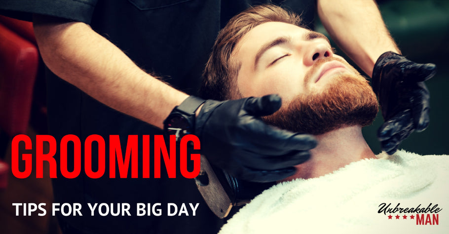 Grooming tips for the big day