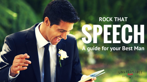 Rock that speech: A Guide for your best man.