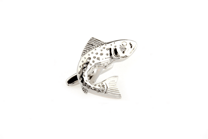 Trout Cuff Links