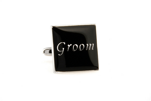 Groom Cuff Links, Unbreakable Man - 1