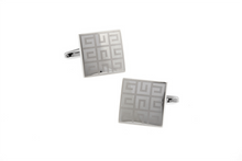 Load image into Gallery viewer, Elegant Maze Pattern Cuff Links, Unbreakable Man - 3