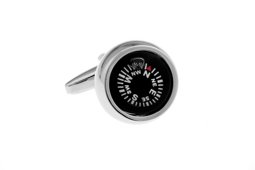 Compass Cuff Links, Unbreakable Man - 1