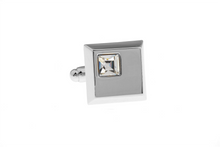 Load image into Gallery viewer, Diamonté Cube Cuff Links, Unbreakable Man - 1