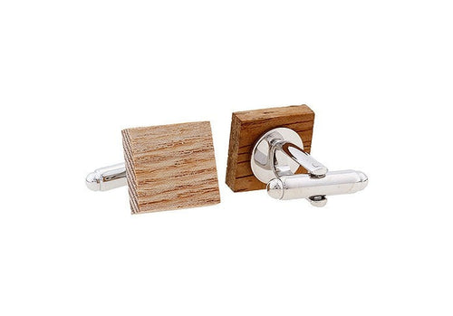 Wooden Cuff Links