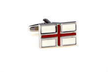 Load image into Gallery viewer, England Flag Cuff Links, Unbreakable Man - 1