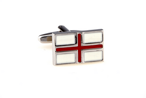 England Flag Cuff Links, Unbreakable Man - 1