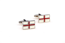 Load image into Gallery viewer, England Flag Cuff Links, Unbreakable Man - 2