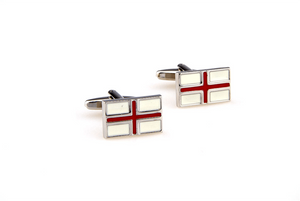 England Flag Cuff Links, Unbreakable Man - 2