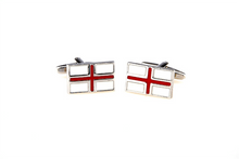 Load image into Gallery viewer, England Flag Cuff Links, Unbreakable Man - 3