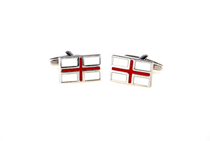 England Flag Cuff Links, Unbreakable Man - 3