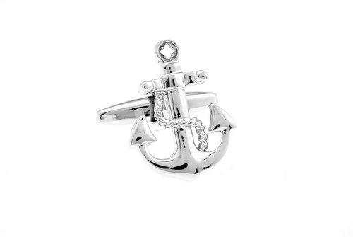 Anchor Cuff Links, Unbreakable Man - 1