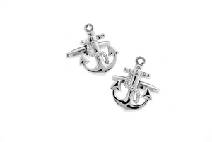 Anchor Cuff Links, Unbreakable Man - 2
