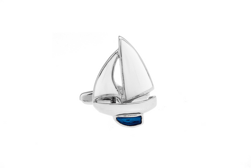 Sailing Boat Cuff Links