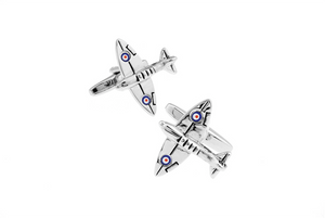 Fighter Plane Cuff Links