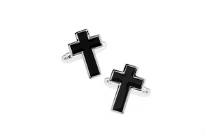 Christian Cross Cuff Links
