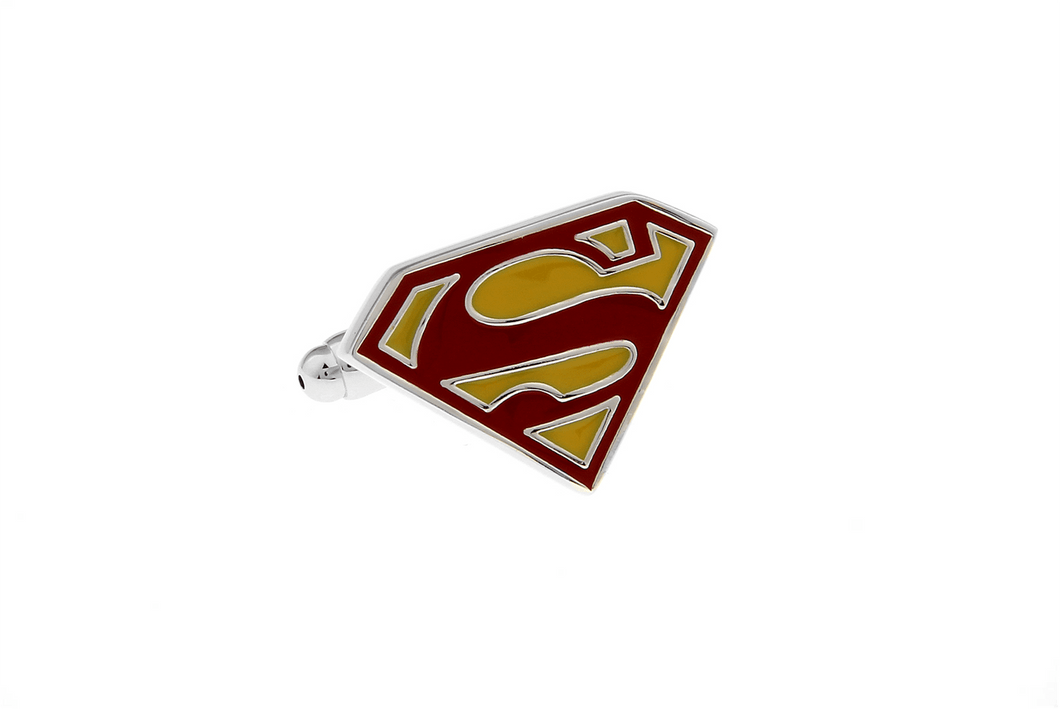 Superman Cuff Links - Colour