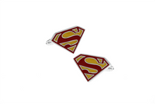 Load image into Gallery viewer, Superman Cuff Links - Colour