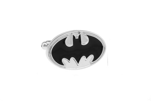 Batman Cuff Links - Silver, Unbreakable Man - 1