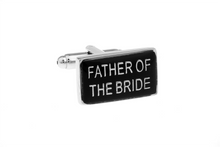 Load image into Gallery viewer, Father of the Bride Cuff Links, Unbreakable Man - 1