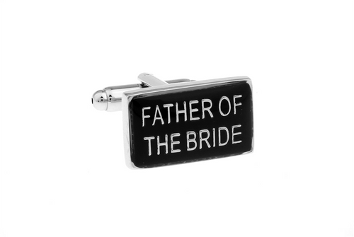 Father of the Bride Cuff Links, Unbreakable Man - 1