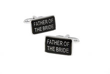 Load image into Gallery viewer, Father of the Bride Cuff Links