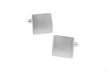 Load image into Gallery viewer, Elegant Brushed Cuff Links with engraving, Unbreakable Man - 2