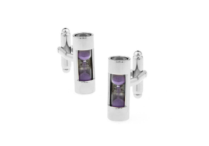 Hourglass Cuff Links