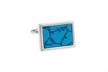 Load image into Gallery viewer, Turquoise Cuff Links