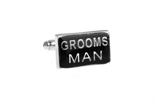 Load image into Gallery viewer, Groomsman Cuff Links, Unbreakable Man - 1