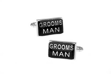 Load image into Gallery viewer, Groomsman Cuff Links