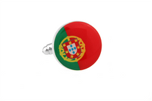 Portugal Flag Cuff Links, Unbreakable Man - 1