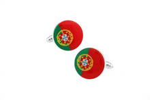 Portugal Flag Cuff Links, Unbreakable Man - 2