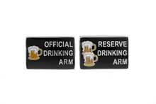 Load image into Gallery viewer, Beer Cuff Links, Unbreakable Man - 1