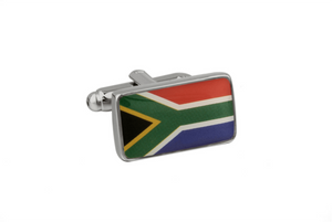 South African Flag Cuff Links