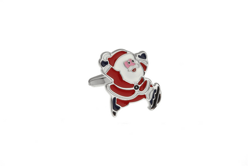 Santa Claus Cuff Links