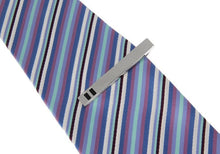 Double Striped Tip Tie Bar, Unbreakable Man - 3